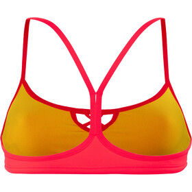 arena Be Haut de maillot de bain Femme, fluo red-yellow star